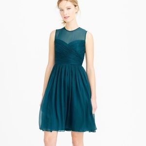 Women's J. Crew Dress. Green/Turquoise. Size 4